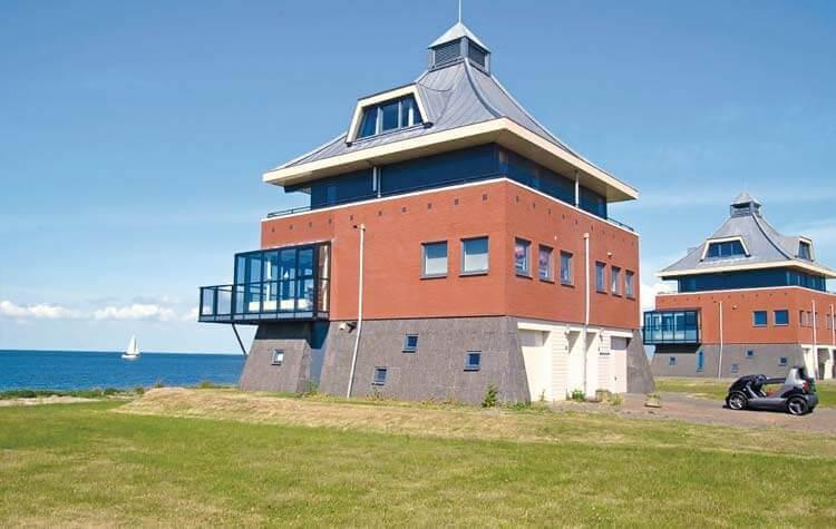 Fins Vakantie Huis : Vakantiehuis op loopafstand minuten van het strand