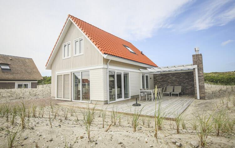 Vakantiehuis met Privé Sauna aan de Nederlandse kust